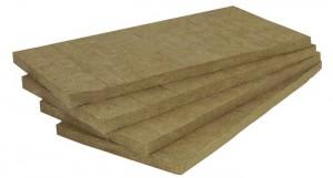 Placas de lã de rocha oferecem excelente isolamento térmico e acústico.
